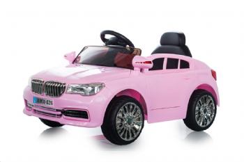 Pink X5 Saloon - 12V Kids' Electric Ride On Car